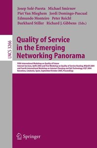 Quality of Service in the Emerging Networking Panorama
