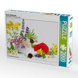 CALVENDO Puzzle Bunte Wildkräuter 2000 Teile Lege-Größe 90 x 67