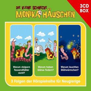 Die kleine Schnecke Monika Häuschen 3-CD Hörspielbox Vol. 1 Folg