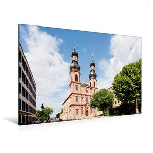 Premium Textil-Leinwand 120 cm x 80 cm quer Sankt Peterkirche