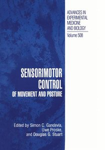 Sensorimotor Control of Movement and Posture