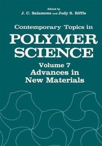 Advances in New Materials