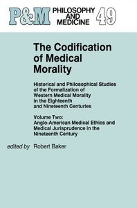 The Codification of Medical Morality