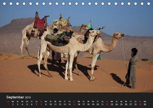 Die Sahara in Algerien / CH-Version (Tischkalender 2019 DIN A5 q