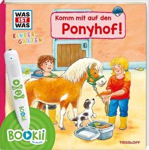 BOOKii® WAS IST WAS Kindergarten Komm mit auf den Ponyhof!