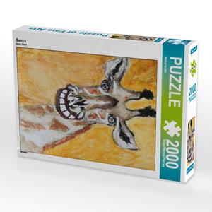 CALVENDO Puzzle Sonya 2000 Teile Lege-Größe 67 x 90 cm Foto-Puzz