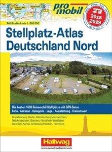 Promobil Deutschland Nord Stellplatz-Atlas 2018