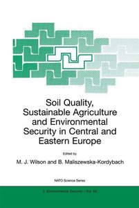 Soil Quality, Sustainable Agriculture and Environmental Security