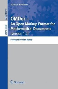 OMDoc -- An Open Markup Format for Mathematical Documents [versi