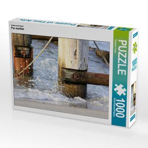 CALVENDO Puzzle Pur maritim 1000 Teile Lege-Größe 64 x 48 cm Fot