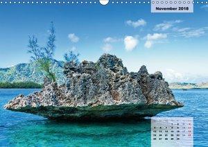 Mauritius - Pearl of the Indian Ocean (Wall Calendar 2018 DIN A3