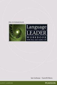 Language Leader Pre-Intermediate: Workbook with Key and Audio CD