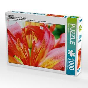 Ein Motiv aus dem Kalender Zauberblüte - Asiatische Lilie 1000 T