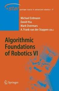 Algorithmic Foundations of Robotics VI