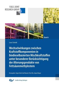 Wechselwirkungen zwischen Kraftstoffkomponenten in biodieselbasi