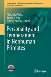 Personality and Temperament in Nonhuman Primates