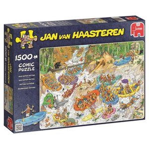 Jan van Haasteren - Wildwasserrafting - 1500 Teile