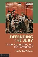 Appleman, L: The Defending the Jury - zum Schließen ins Bild klicken
