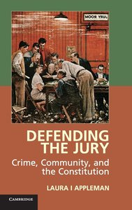 Appleman, L: The Defending the Jury