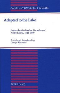 Adapted to the Lake