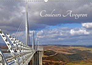 Couleurs Aveyron (Calendrier mural 2018 DIN A3 horizontal) Diese