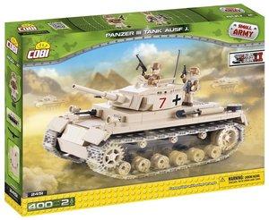 COBI 2451 - Panzer III Tank Ausführung J, Small Army, sand