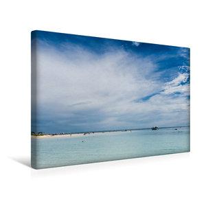 Premium Textil-Leinwand 45 cm x 30 cm quer Coral Bay