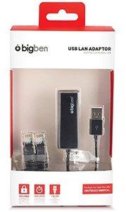 USB-LAN-Adapter für Nintendo Switch, schwarz