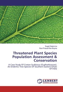 Threatened Plant Species Population Assessment & Conservation