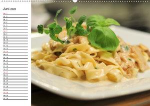Heute gibt es Nudeln! Basta! Pasta-Impressionen (Wandkalender 20
