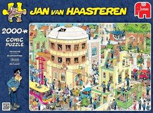 Jan van Haasteren - Die Flucht. Puzzle 2000 Teile