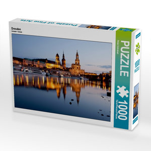 Dresden 1000 Teile Puzzle quer