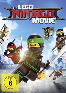 The Lego Ninjago Movie, 1 DVD