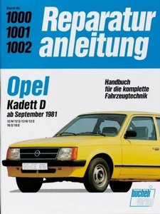 Opel Kadett D ab September 1981