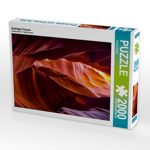 Antelope Canyon 2000 Teile Puzzle hoch