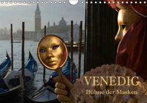 Venedig - Bühne der Masken (Wandkalender 2019 DIN A4 quer)