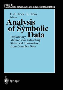 Analysis of Symbolic Data