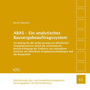 ABAS - Ein analytisches Bauvergabeauftragssystem