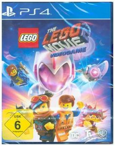 The LEGO Movie 2 Videogame, 1 PS4-Blu-ray Disc