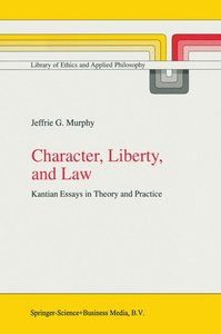 Character, Liberty and Law