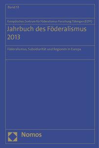 Jahrbuch des Föderalismus 2013