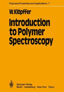 Introduction to Polymer Spectroscopy