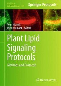 Plant Lipid Signaling Protocols