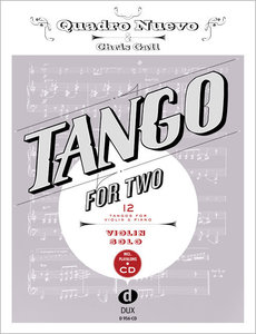 Tango for Two. 12 Tangos for Violin Solo incl. Playalong-CD