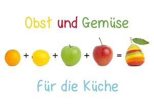 Obst & Gemüse für die Küche (Posterbuch DIN A4 quer)