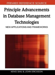 Principle Advancements in Database Management Technologies: New