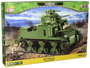 COBI 2385 - SMALL ARMY, M3 LEE, Panzer, WWII, Bausatz, 530 Teile