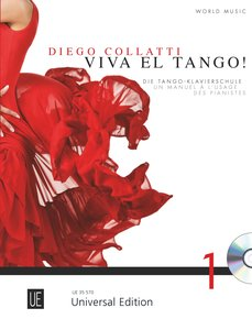 Viva el Tango!, für Klavier, mit Audio-CD. Bd.1