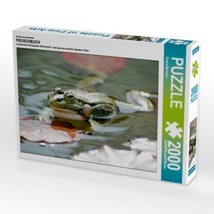 Ein Motiv aus dem Kalender FROSCHBUCH 2000 Teile Puzzle quer