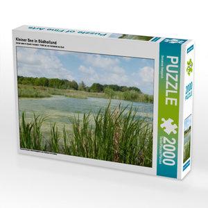 CALVENDO Puzzle Kleiner See in Südholland 2000 Teile Lege-Größe